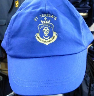 St Teresa's Catholic Primary School - Baseball Cap with School Logo Royal Baseball Cap / One Size School Uniform Centres Caps school-uniform-centres.myshopify.com Schoolwear Centres