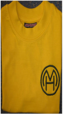 Milton Hall Primary School - Gold P E T-Shirt with School Logo - Schoolwear Centres | School Uniform Centres