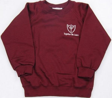 Earls Hall Primary School - Sweatshirt Jumper with School Logo - Schoolwear Centres