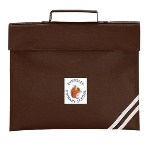 Eversley Primary School - Bookbag with School Logo BROWN / BOOK BAGS School Uniform Centres BOOK BAGS school-uniform-centres.myshopify.com Schoolwear Centres
