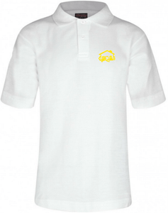 Fairhouse Primary School - White Polo Shirt with School Logo | School Uniform Centres