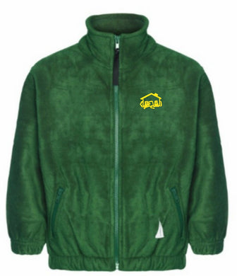 Fairhouse Primary School - Bottle Fleece Jacket with School Logo - Schoolwear Centres
