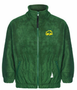 Fairhouse Primary School - Bottle Fleece Jacket with School Logo - Schoolwear Centres | School Uniform Centres