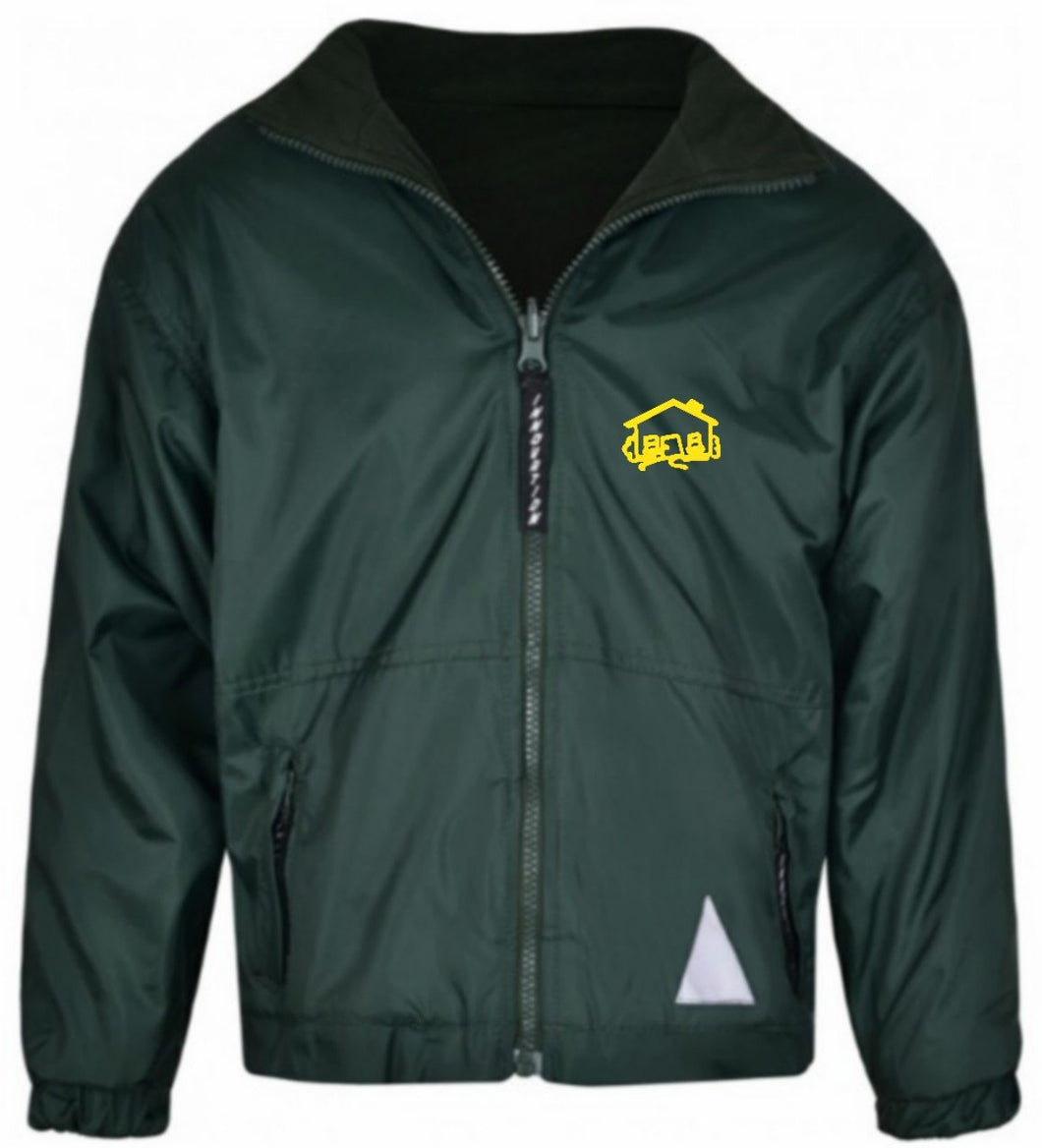Fairhouse Community School - Bottle Reversible Fleece Jacket with School Logo - Schoolwear Centres | School Uniform Centres