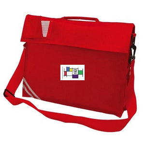 Felmore Primary School - Red Bookbag with School Logo - Schoolwear Centres | School Uniform Centres