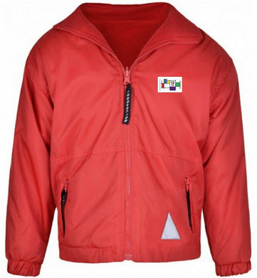 Felmore Primary School - Red Reversible Fleece Jacket with School Logo - Schoolwear Centres | School Uniform Centres
