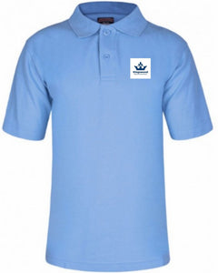 Kingswood Primary School - Sky Polo Shirt with School Logo - Schoolwear Centres | School Uniform Centres