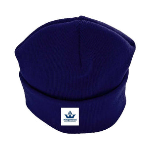 Kingswood Primary School - Navy Beanie / Ski Hats with School Logo - Schoolwear Centres | School Uniform Centres
