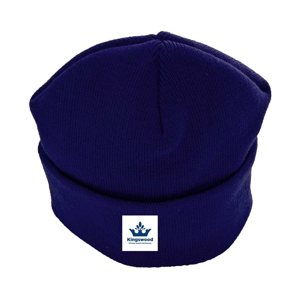 Kingswood Primary School - Beanie / Ski Hats with School Logo - Schoolwear Centres