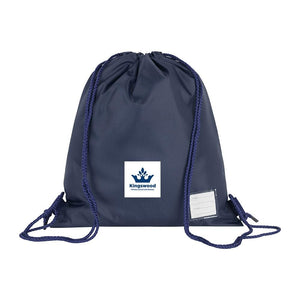 Kingswood Primary School - Navy Schoolbags with School Logo  School Uniform Centres BOOK BAGS school-uniform-centres.myshopify.com Schoolwear Centres