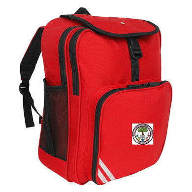 Northlands Junior School - Red Junior Backpack with School Logo - Schoolwear Centres | School Uniform Centres