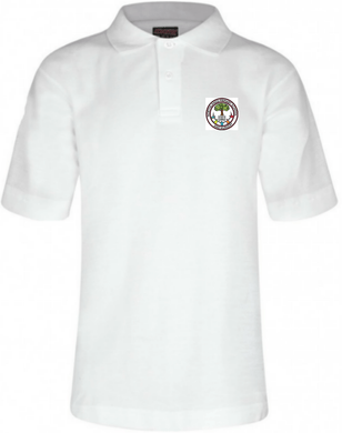 Northlands Junior School - White Polo Shirt with School Logo - Schoolwear Centres | School Uniform Centres