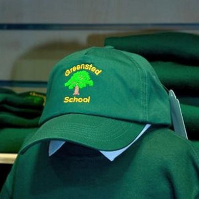 GREENSTED INFANT SCHOOL AND NURSERY - BASEBALL CAP WITH SCHOOL LOGO