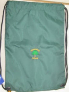 GREENSTED INFANT SCHOOL AND NURSERY - P E BAG WITH SCHOOL LOGO
