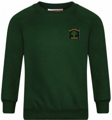 Greensted Infant School and Nursery - Bottle Sweatshirt Jumper with School Logo | Schoolwear Centres