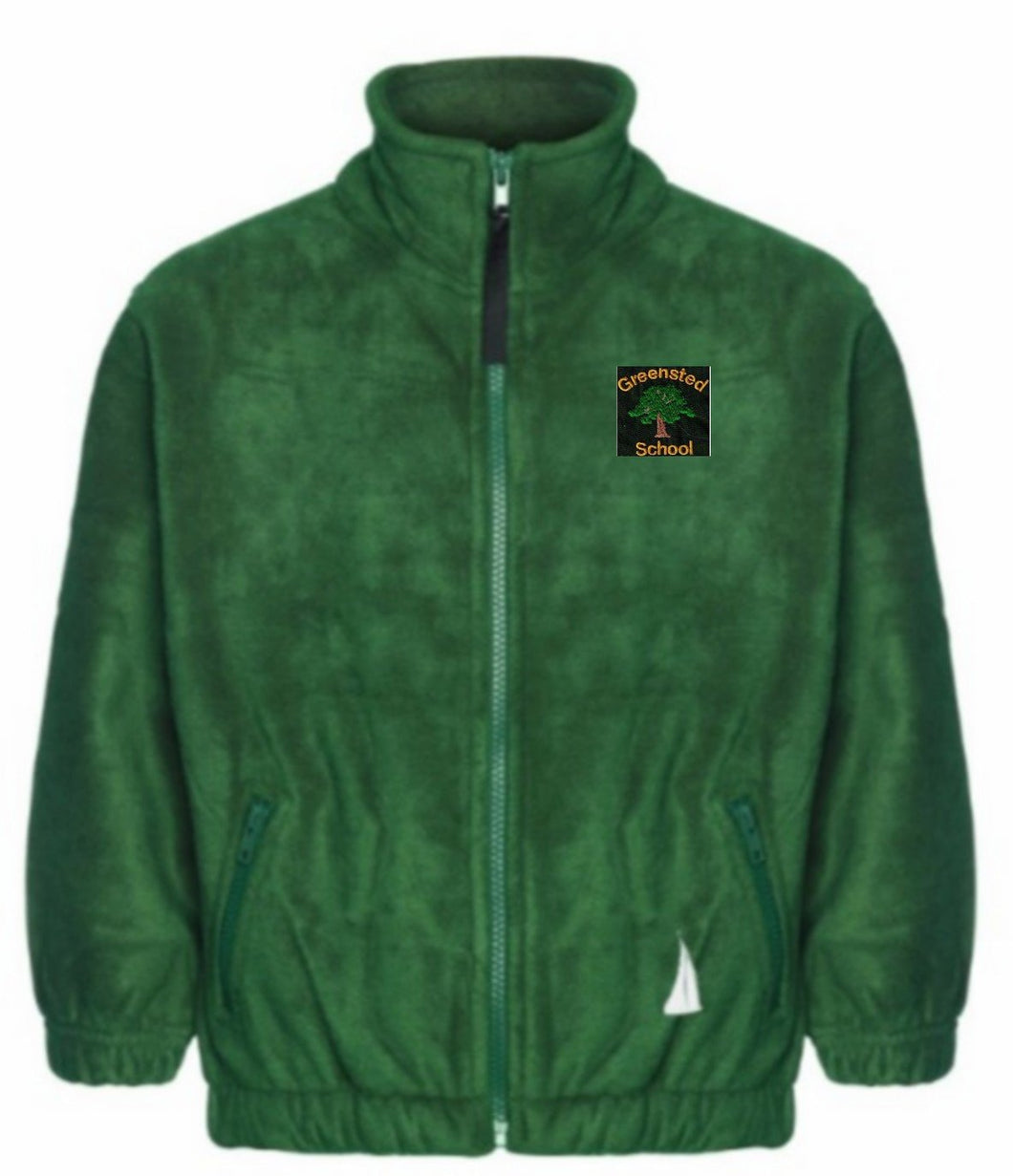 Greensted Infant School and Nursery - Bottle Fleece Jacket with School Logo - Schoolwear Centres | School Uniform Centres