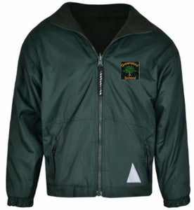 Greensted Infant School and Nursery - Bottle Reversible Fleece Jacket with School Logo - Schoolwear Centres | School Uniform Centres
