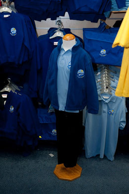Kingsdown School - Royal Fleece Jacket with School Logo | School Uniform Centres
