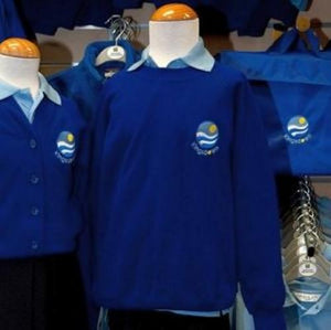 SWEATSHIRT (R-NECK) JUMPER WITH SCHOOL LOGO | School Uniform Centres