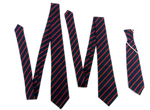 "Great Berry Primary School - Tie Navy/Red / 45"" TIES School Uniform Centres Tie school-uniform-centres.myshopify.com Schoolwear Centres"
