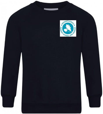 Merrylands Primary School - Navy Sweatshirt Jumper with School Logo - Schoolwear Centres | School Uniform Centres
