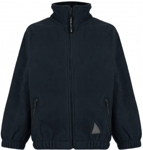 Whitmore Primary School and Nursery - Black Fleece Jacket with School Logo | School Uniform Centres