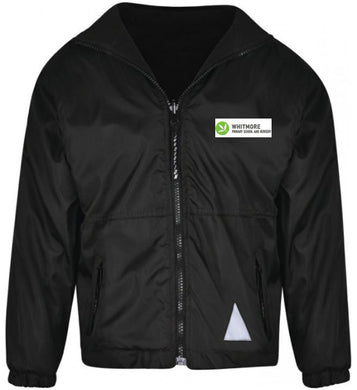 Whitmore Primary School and Nursery - Black Reversible Fleece Jacket with School Logo - Schoolwear Centres | School Uniform Centres