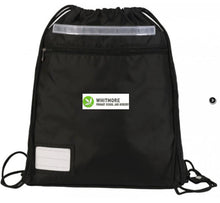 Whitmore Primary School and Nursery - Black School Bags with School Logo Black / P E Bag School Uniform Centres BOOK BAGS school-uniform-centres.myshopify.com Schoolwear Centres