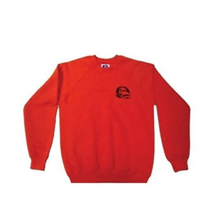 Mayflower High School - Red Sweatshirts with School Logos RED / 35 - XXS School Uniform Centres Sweatshirts school-uniform-centres.myshopify.com Schoolwear Centres