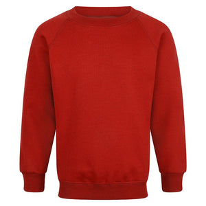 Mayflower High School - Red Sweatshirts with School Logo | School Uniform Centres