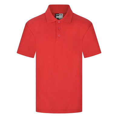 Mayflower High School - Red Polo Shirts with School Logo - Schoolwear Centres