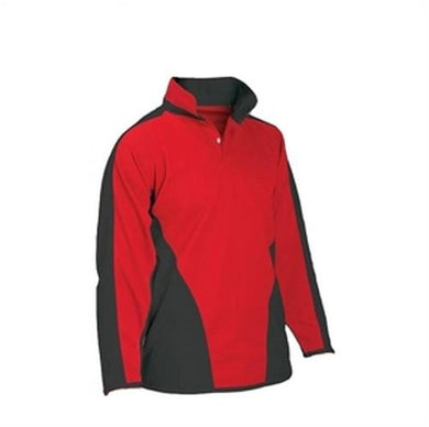Mayflower High School - Red /Black Rugby Top SCARLET/BLK / 46 - 48 School Uniform Centres RUGBY TOP school-uniform-centres.myshopify.com Schoolwear Centres