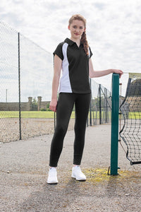 Belfairs Academy - Girls Leggings (Black) with School Logo - Schoolwear Centres | School Uniform Centres