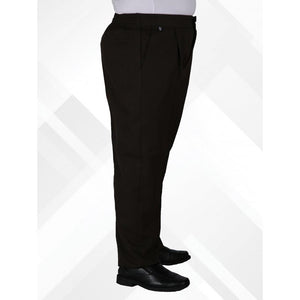 Boys - Black Sturdy Fit Trousers - Schoolwear Centres
