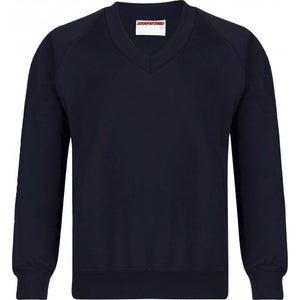 V/Neck Sweatshirts (12 Colours) FRENCH NAVY / XS School Uniform Centres Sweatshirts school-uniform-centres.myshopify.com Schoolwear Centres