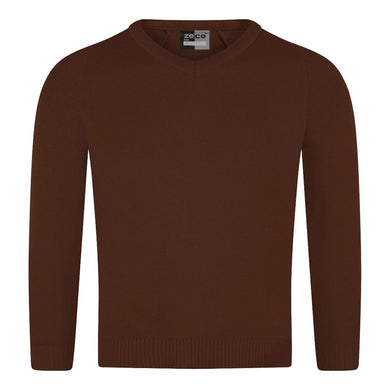 Knitted V Neck Jumpers - Schoolwear Centres