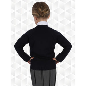 50/50 Knitted Cardigans  School Uniform Centres Knitwear Cardigan school-uniform-centres.myshopify.com Schoolwear Centres