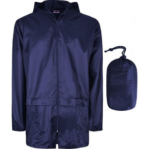 Waterproof Cagoules | Black | Royal | Navy | Red NAVY / EXTRA LARGE Schoolwear Centres Unisex Products school-uniform-centres.myshopify.com Schoolwear Centres