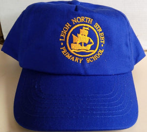 Leigh North Street Primary School - Royal Baseball Caps with School Logo - Schoolwear Centres | School Uniform Centres