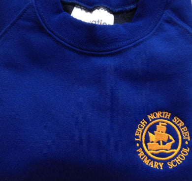 Leigh North Street Primary School - Round-neck Sweatshirts with School Logo - Schoolwear Centres | School Uniform Centres