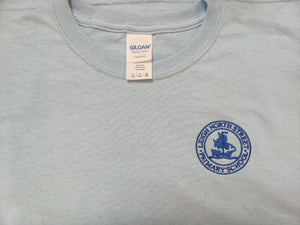 Leigh North Street Primary School - t-shirt with School Logo Light Blue / LARGE - Adult Schoolwear Centres T-Shirts school-uniform-centres.myshopify.com Schoolwear Centres