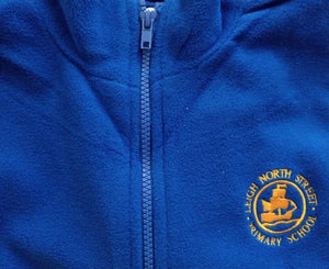 Leigh North Street Primary School - Fleece Jackets with School Logo - Schoolwear Centres | School Uniform Centres