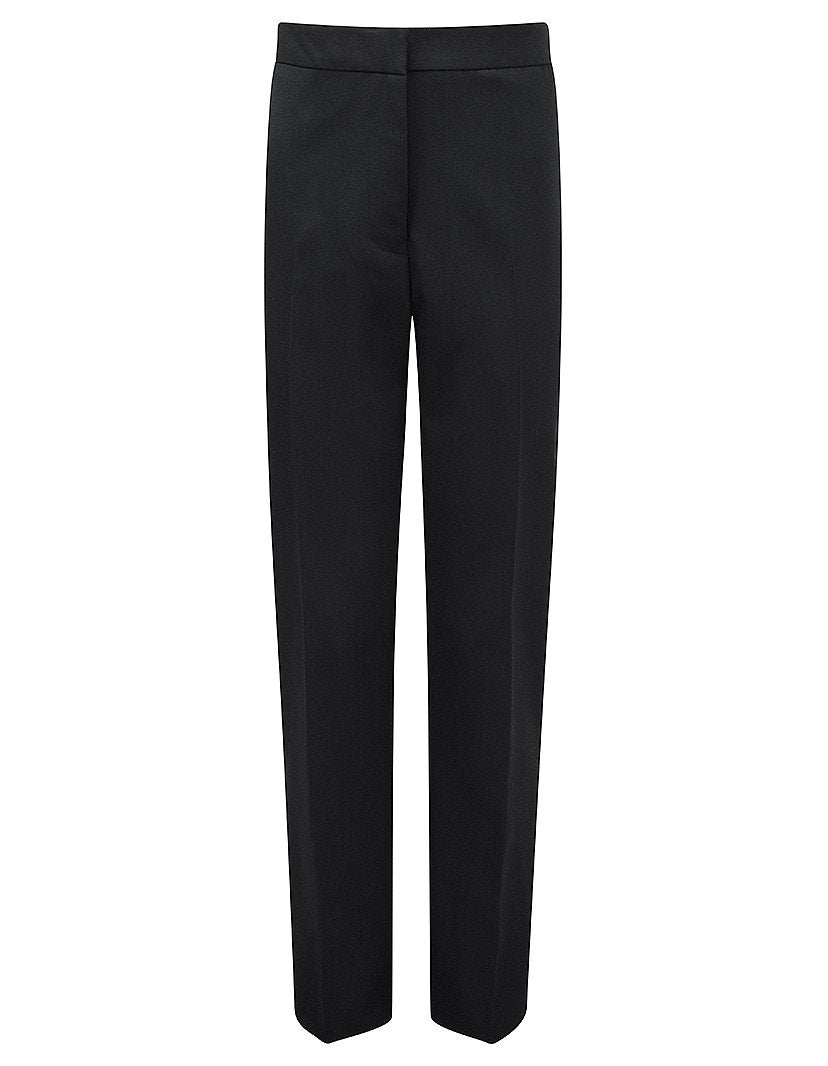 Aspire Girls Slim-fit Trousers (available in Black & Grey colours) - Schoolwear Centres | School Uniform Centres