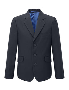 Hassenbrook Academy - Boys 3 buttoned Designer Jacket with School Logo - Schoolwear Centres | School Uniform Centres