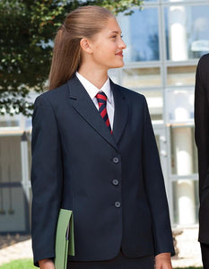 Hassenbrook Academy - Girls 3 buttoned Designer Jacket with School Logo - Schoolwear Centres | School Uniform Centres