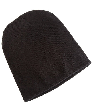 FlexFit Heavyweight Beanie | Black | Charcoal | Heather Grey | Maroon | Navy | Purple | Red | Royal | White - Schoolwear Centres | School Uniform Centres