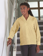 Girls 2pk Long Sleeve (Non Iron) Revere Collar Blouse - Schoolwear Centres | School Uniform Centres