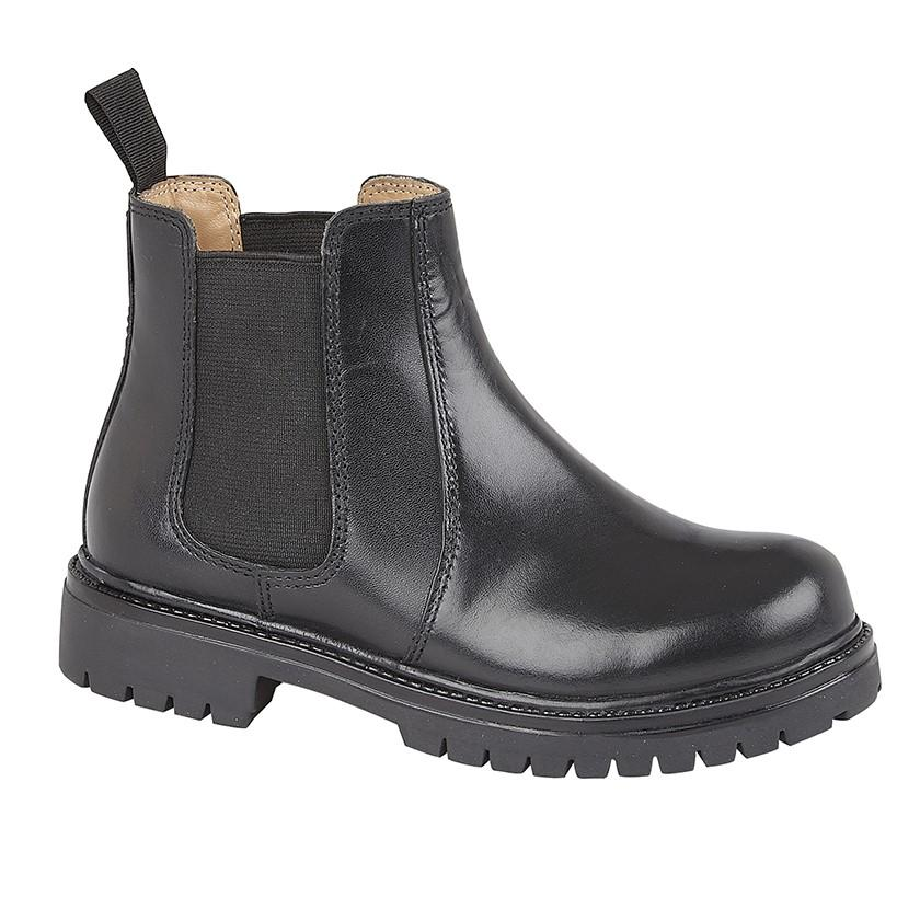 Roamers (B 525A) Twin Gusset Ankle Boot - Schoolwear Centres | School Uniform Centres