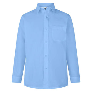Boys 2pk L/S Shirts | Non-Iron Shirt | Available in 7 Colours - Schoolwear Centres | School Uniform Centres
