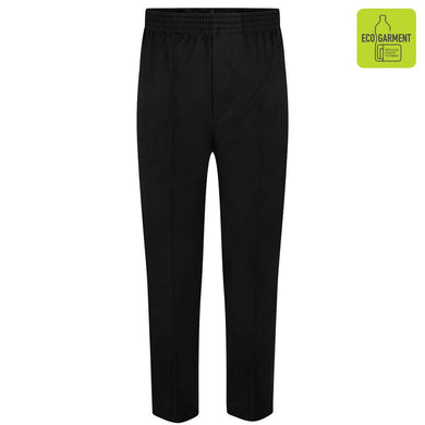 Full Elastic Pull-Up Trouser | Navy | Grey | Black Black / 13 Yrs School Uniform Centres Shorts school-uniform-centres.myshopify.com Schoolwear Centres